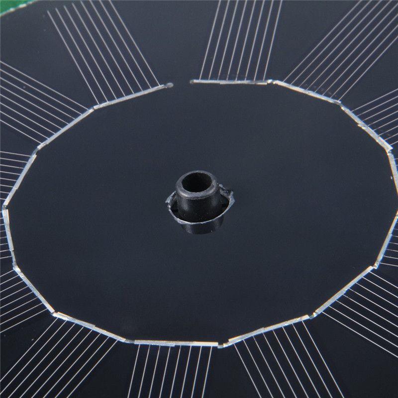 200L / H Aufzug 90CM Simulation Lotus Blatt Brunnen 8 V DC Brushless Motor Solarpumpe Teich Brunnen Brushless Wasserpumpe mit Sonnenkollektor