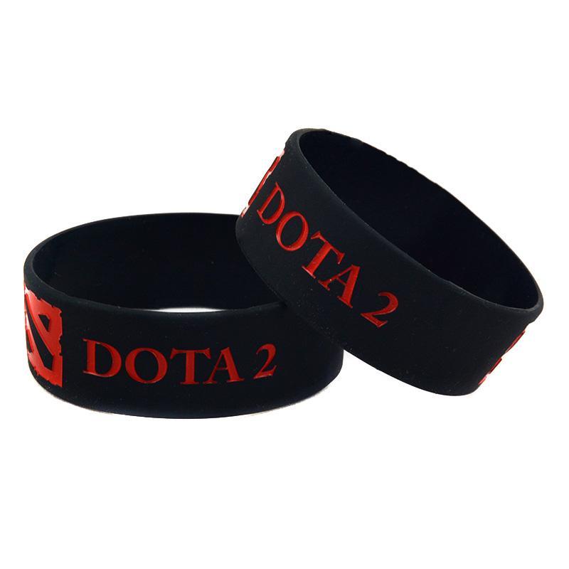 / 1 Pouce Large Bande DOTA 2 Bracelet En Silicone Parfait Pour Utiliser Dans N'importe quel Cadeau Cadeau Pour Joueur