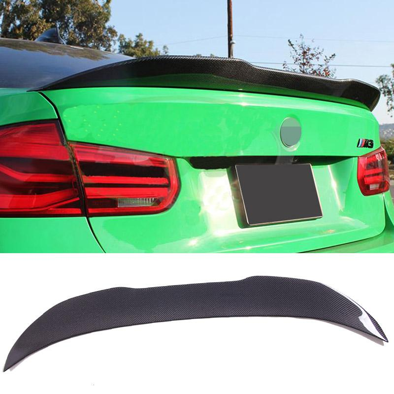 2019 Gtxstyle Carbon Fiber Trunk Spoiler Fit For Bmw F30 F35 3