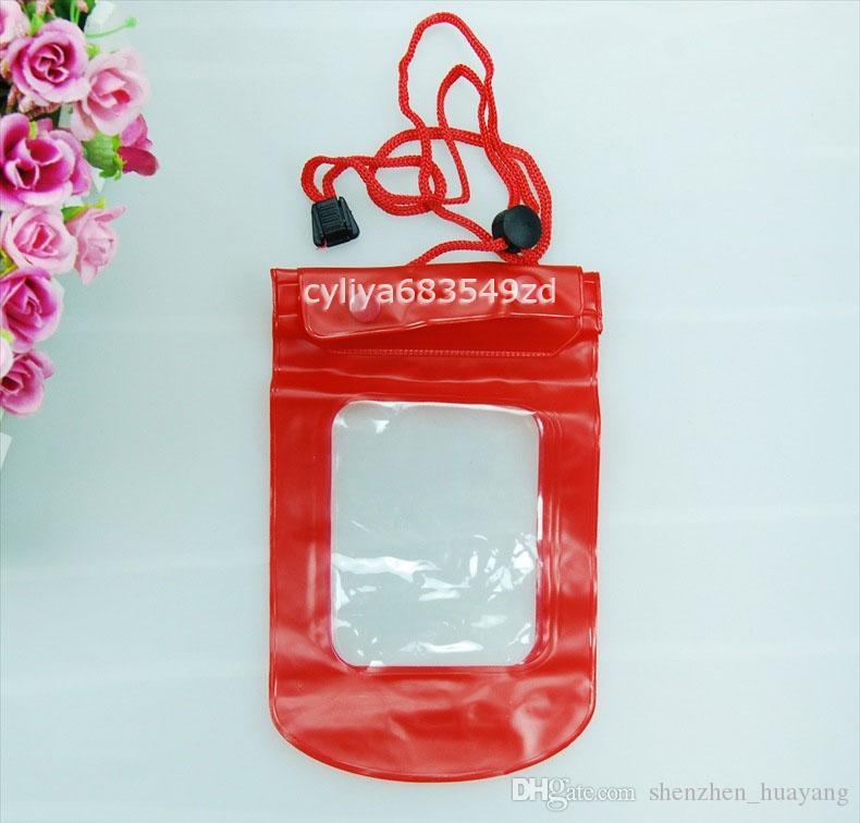 Étui étanche pour appareil photo étanche pour sac de ski Ski Beach pour appareil photo pour téléphone portable Étanche sac universel DHL livraison gratuite