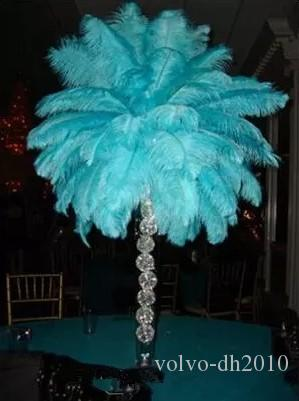 12colours DIY Ostrich Feathers Plume Centerpiece for Wedding Party Table Decoration Wedding Decorations 2017 Hot Selling 20-65CM LLFA