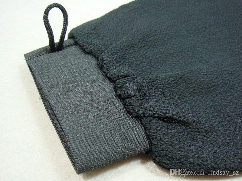 Gratis verzending 100 stks / partij Marokko Hammam Scrub Mitt Magic Peeling Glove Exfoliating Tan Removal Mitt Normaal Grofgevoel