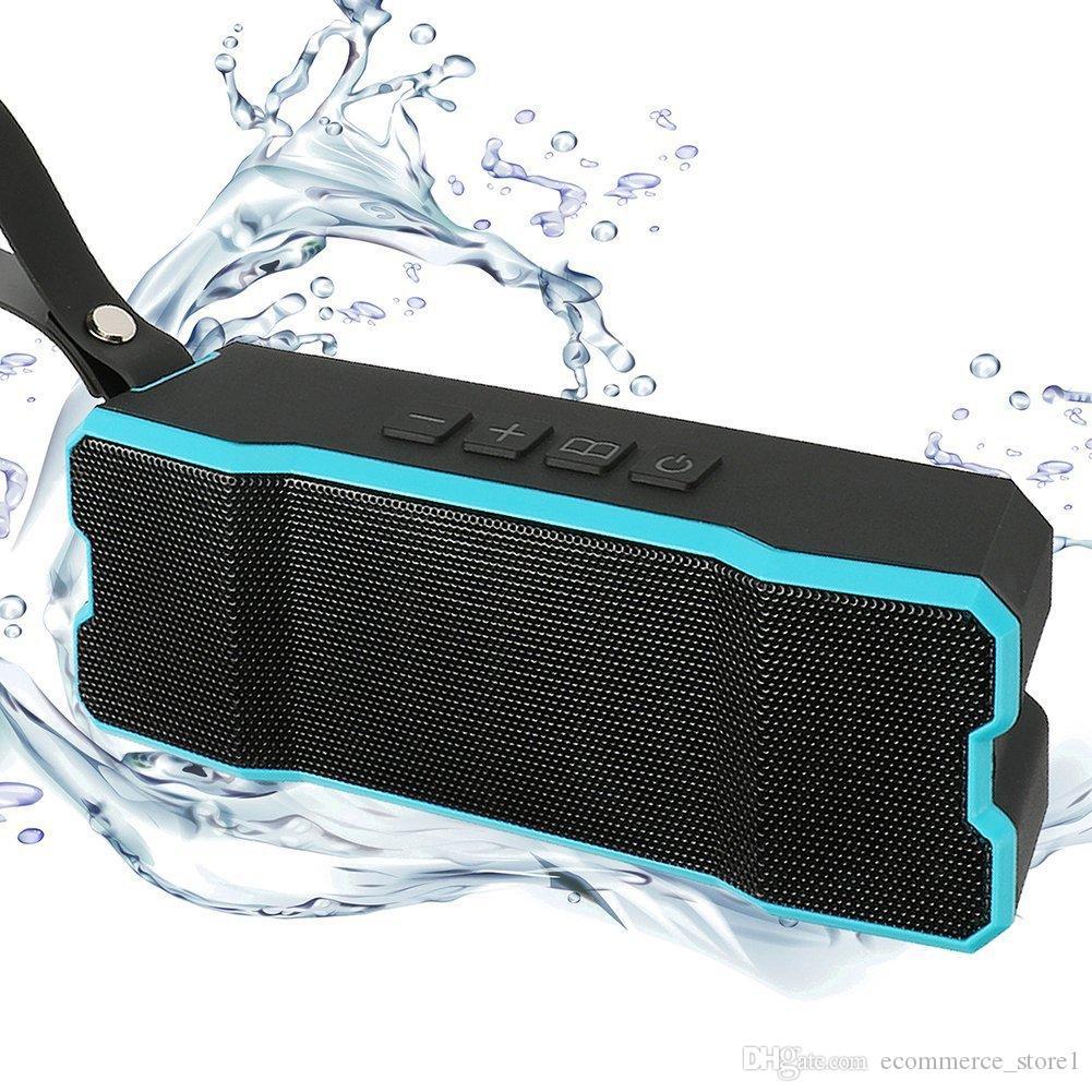 Altoparlanti Bluetooth IPX6 2 * 5W Impermeabile / Antiurto / Antipolvere Esterno Altoparlante Subwoofer wireless Built-in 4500mA Stereo Soundbox