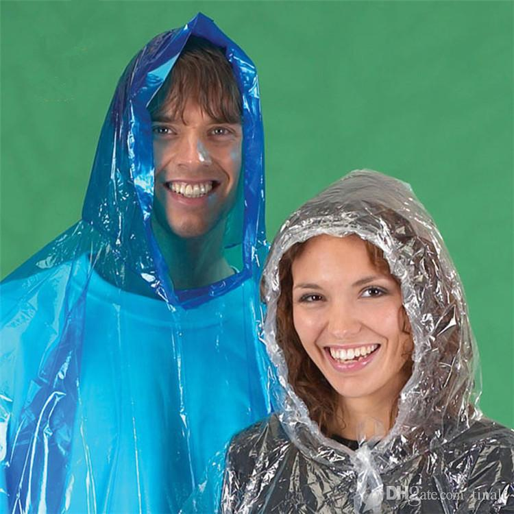 Impermeabile monouso in PVC impermeabile Impermeabile Poncho Impermeabile da viaggio Cappotto antipioggia Impermeabile da pioggia Cappotto da pioggia da viaggio IA025