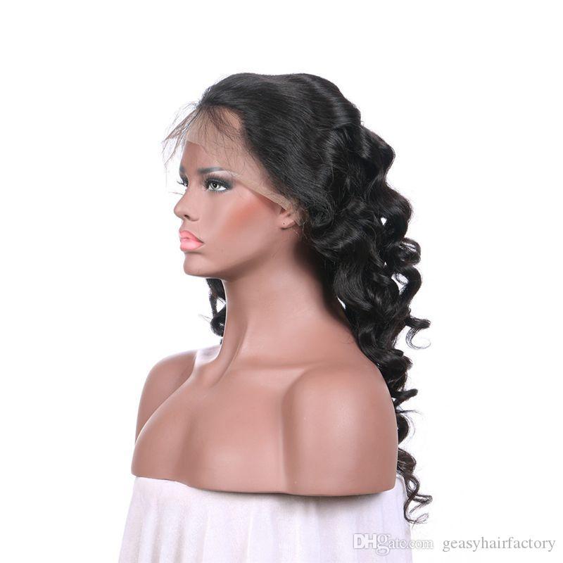 Perruques de cheveux humains pour les femmes noires LaurieJ cheveux