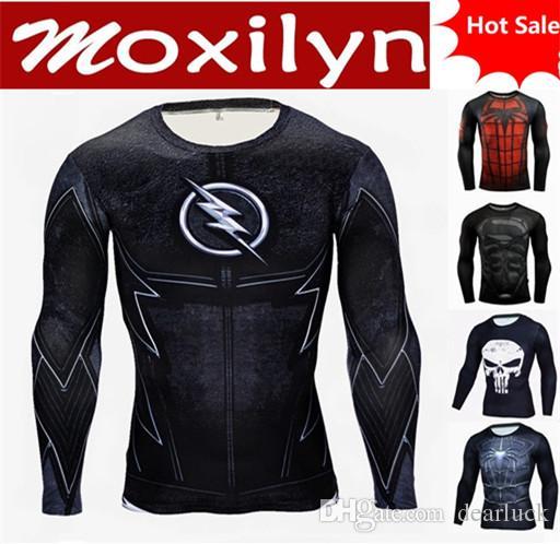 f7d0e654b man's long sleeve T-Shirt Men Motorbike shirt Women Cartoon Characters 3d  Cycling jerseys custom Funny sports jerseys free shipping