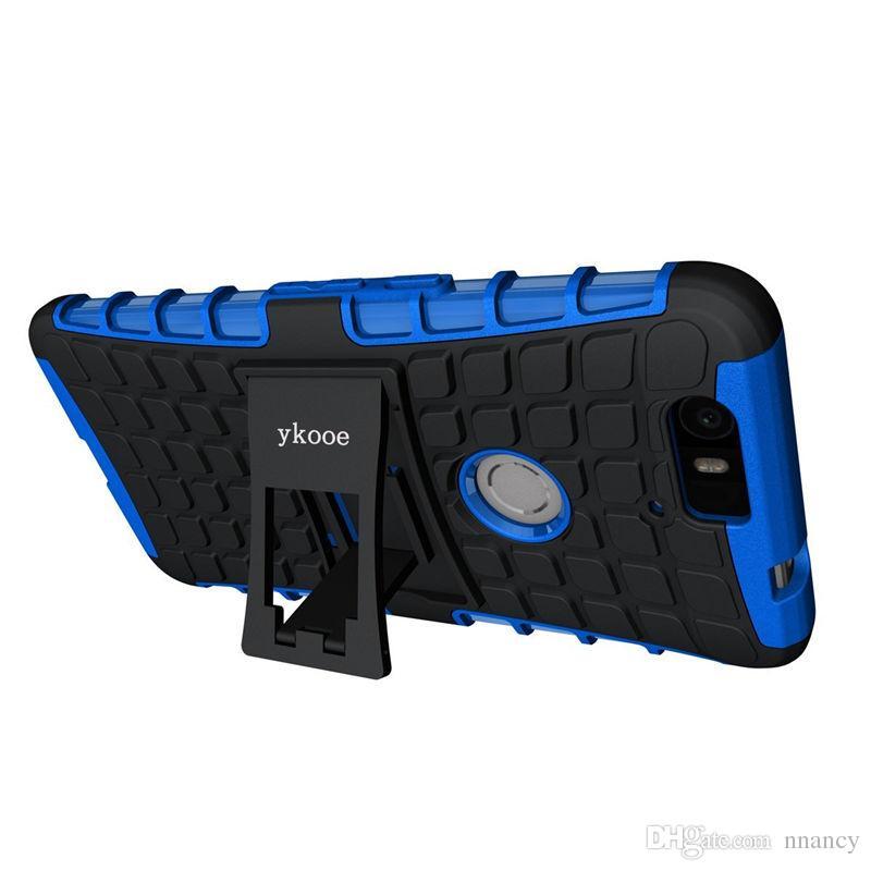 Couverture Pour Huawei Nexus 6 P Cas Antichoc Double Couche Protection Armure Cas Pour Huawei 6 P Mode Mobile Téléphone Coque