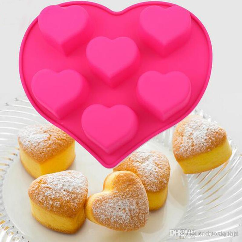 Bakeware Tools Baking Pastry Mould Tiramisu Cake Heart With Love Design Silicone Mold UK 2019 From Luoxiaohei 1134
