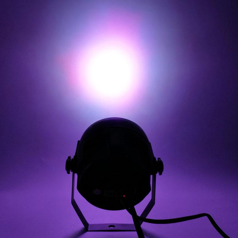 LED Düz Par 12x3 W RGB Aydınlatma Sahne Işık Par Işık DMX512 disko DJ ktv projektör makinesi Parti Dekorasyon Için, SHEHDS