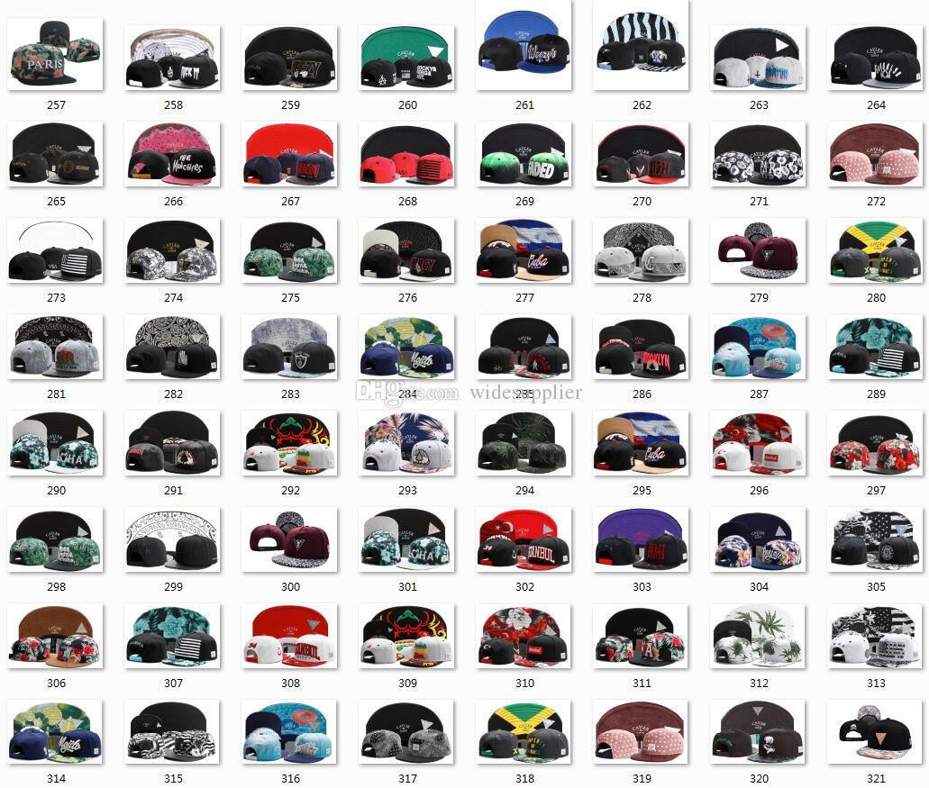 1260 أنماط الرياضة كرة السلة سنببك البيسبول SNAPBACKS كرة القدم رجع القبعات النسائية الرجال شقة قبعات الهيب هوب قبعات رخيصة القبعات الرياضية