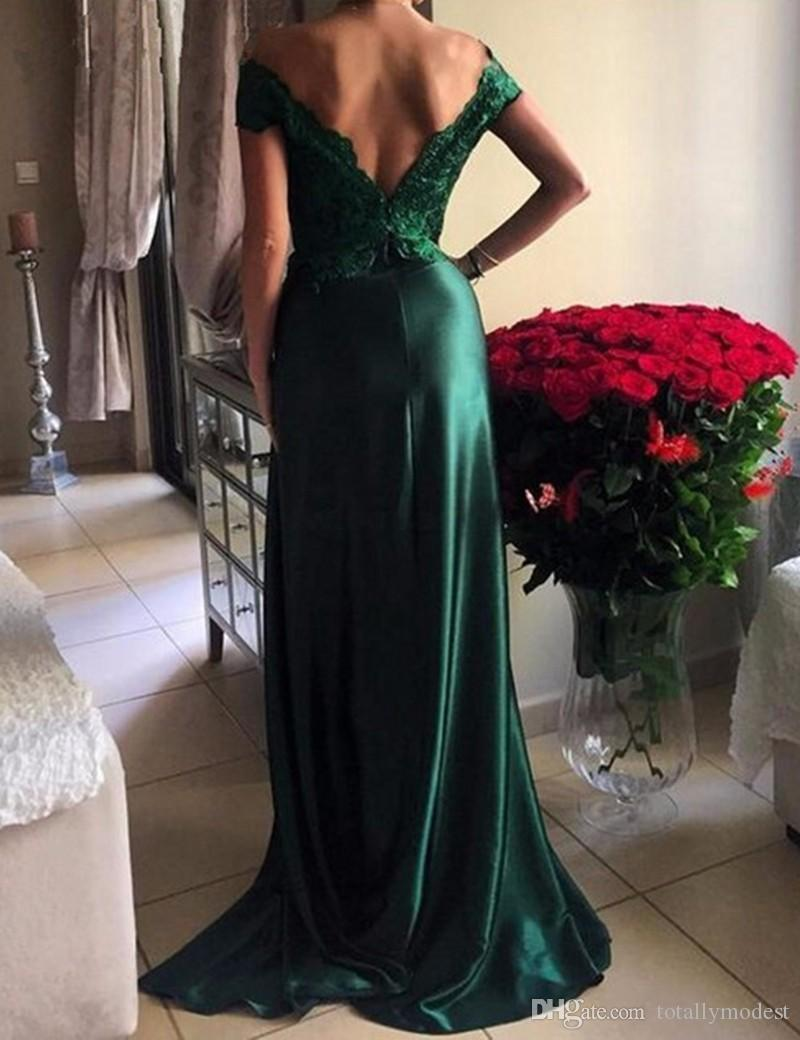 Royal Blue Sexy Lace A Line Long Prom Dresses Off the Shoulder Open Back Teens Formal Evening Prom Party Gowns Custom Made