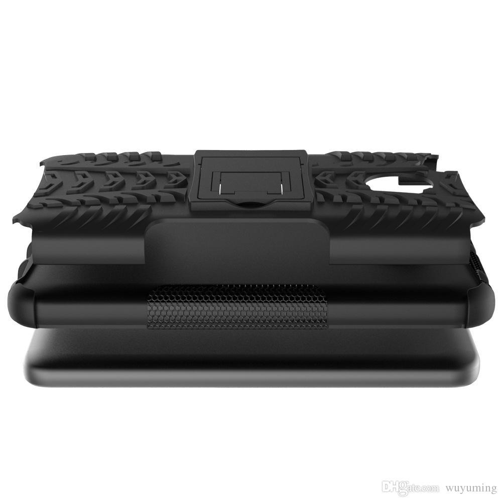 5.0 pouce Pour Xiaomi Redmi 4X Téléphone Case 2in1 Double Couche Kickstand Heavy Duty Armure Antichoc En Silicone Étui Arrière