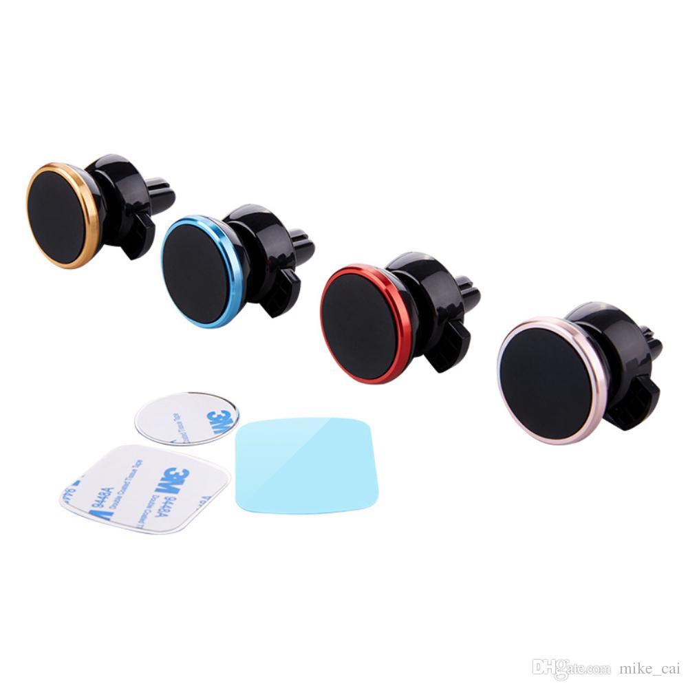 Basso prezzo Cina produttore all'ingrosso 360 rotante sfogo aria universale sfogo magnetico supporto del telefono auto