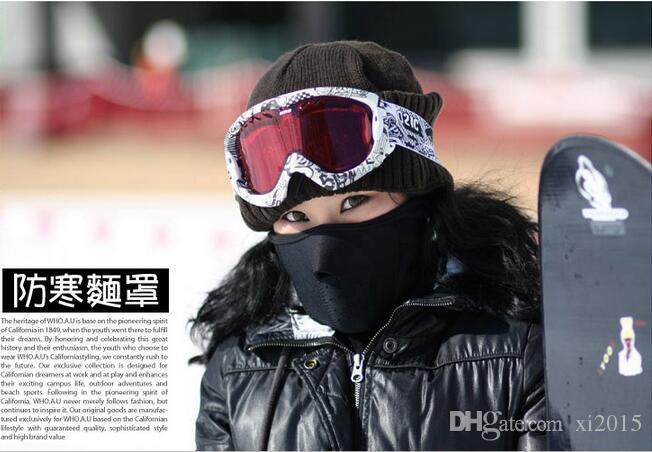 2017 Neopreno Snowboard Ski Ciclismo Mascarilla Cuello Más Ciclismo Bike Bicyle máscara de esquí es Envío gratis