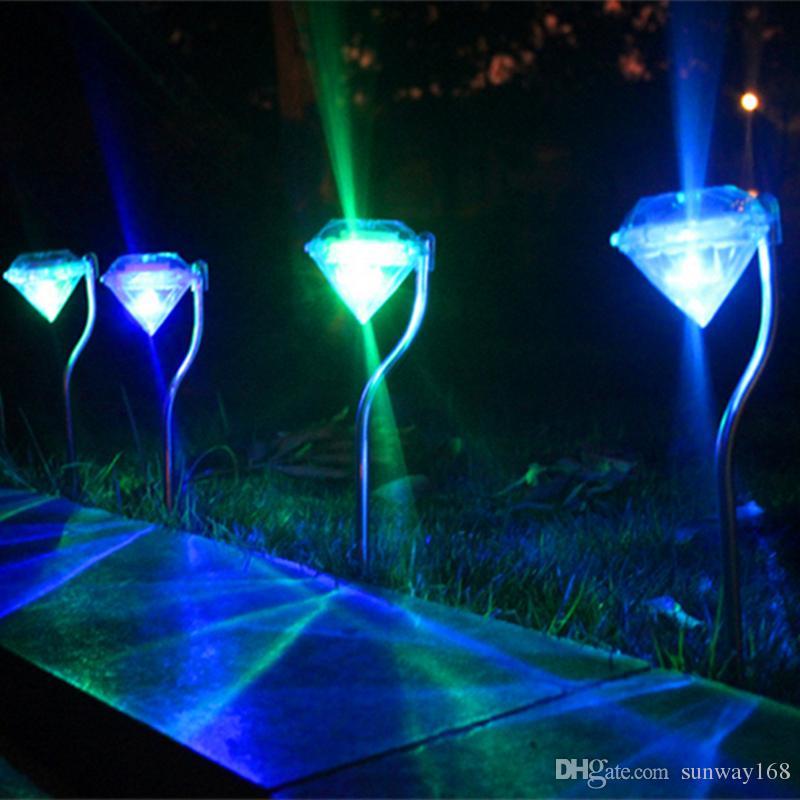 2018 New Arrive Led Solar Lights Diamond Solar Power Lights Rgb/Warm White/Pure White Led Solar Outdoor Christmas Lights For Garden Yard From Sunway168 ... & 2018 New Arrive Led Solar Lights Diamond Solar Power Lights Rgb/Warm ...