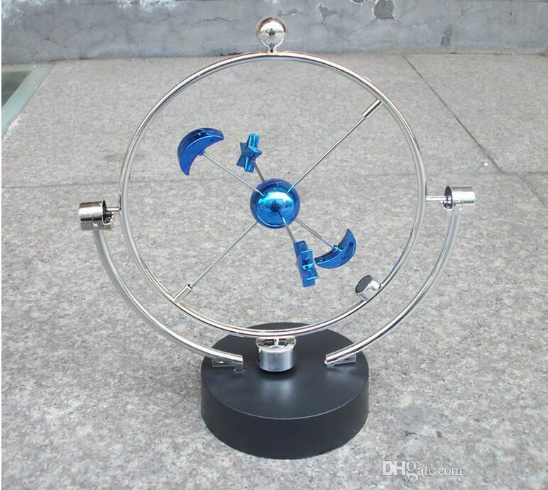 Creative Chinese Rotary Permanent Instrument Model Swing Celestial Globe New Wonderful Home Crafts Decorative Friends