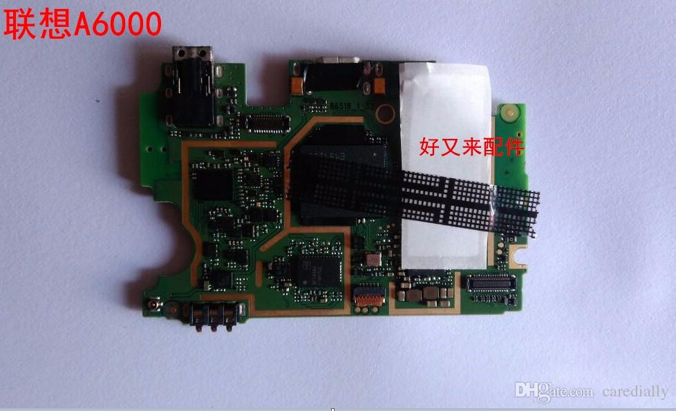 Unlocked used tested good work well lenovo a6000 motherboard mainboard board card fee chipsets one sim slots