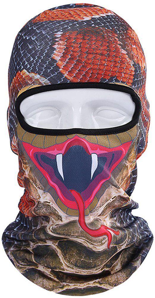 Neue 3D Tier Gesichtsmaske Outdoor Sports Cap Fahrrad Radfahren Angeln Motorrad Masken Ski Sturmhaube Halloween Vollmaske
