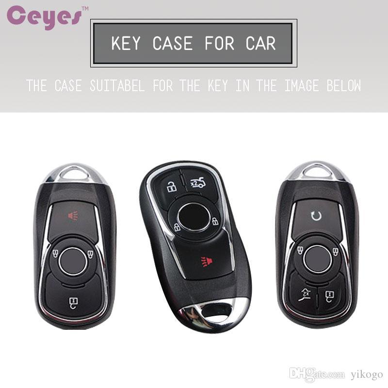 غطاء مفتاح السيارة لأوبل أسترا بويك ENCORE ENVISION NEW LACROSSE Rings مفتاح شل غطاء عن بعد واقي
