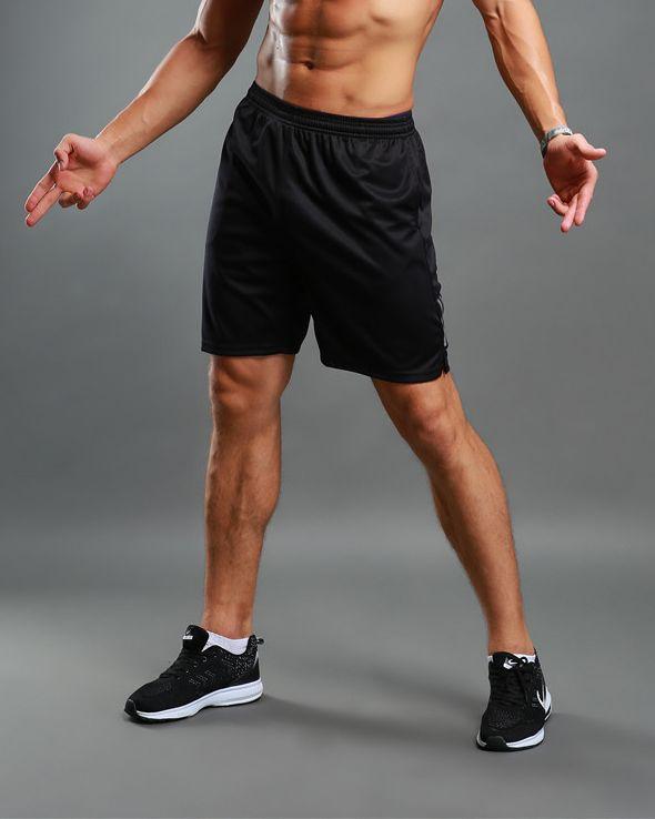 Compre Hombres Mujeres Running Shorts Confort 100% Poliéster Reflective  Regular Fit Secado Rápido Transpirable Bodybuilding Fitness Sports A  5.83  Del ... cb04c08ec69e