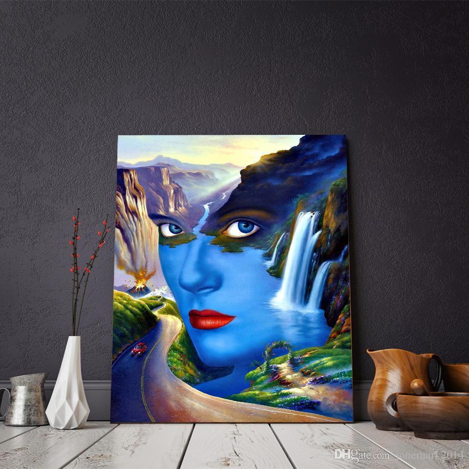 1 Stücke Porträt Von Frauen Abstrakte Wandkunst Leinwand Bilder Für Wohnzimmer Stillleben Wohnkultur Leinwand Ölgemälde