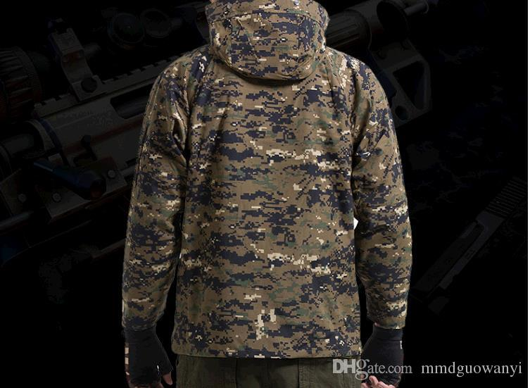 Hot Selling G8 tactical ski-wear, triad male money waterproof outdoor enthusiasts fleece jackets camouflage mountaineering w