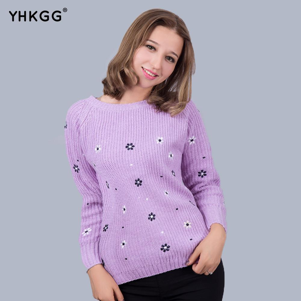 2017 Wholesale Fall 2016 Yhkgg Fashion Flower Brand Printed Top ...