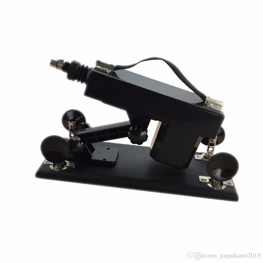 Juguetes sexuales Máquina sexual automática Máquina de masturbación femenina Pistola retráctil automática para mujeres Máquina de amor de velocidad ajustable