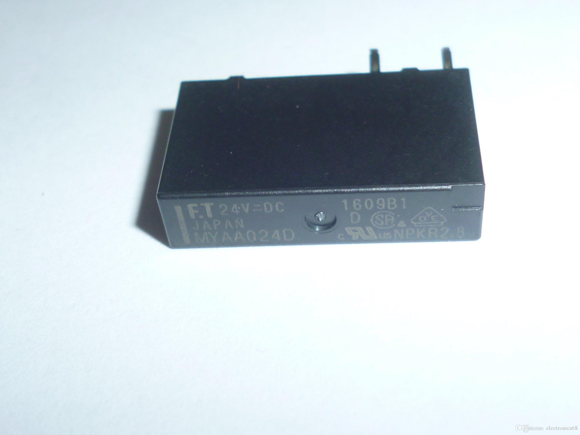 Myaa024d Ftr Power Relay 1 Pole 5a Slim Spdt 12v Online With 1692 Piece On Electronics68s Store