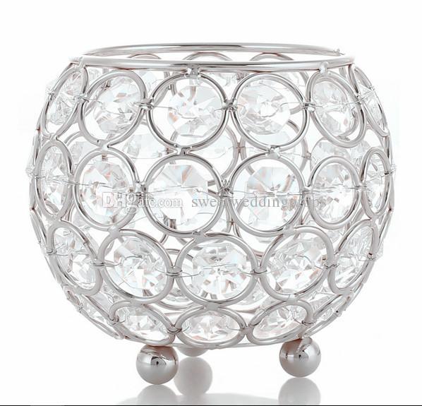smalles sizecandle holder11 crystal candlestick wedding candelabra crystal candle holder home decorative tealight holder votive decoration