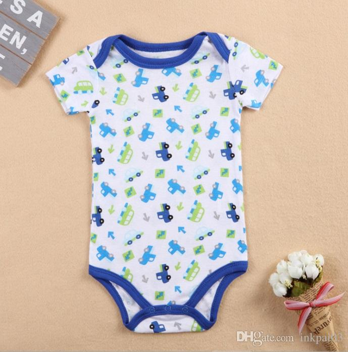 Baby Rompers Suit KATE AMOU Summer Infant Triangle Romper Onesies 100% cotton Short sleeved babies clothes boy girl sizes 6 9 12 18 month