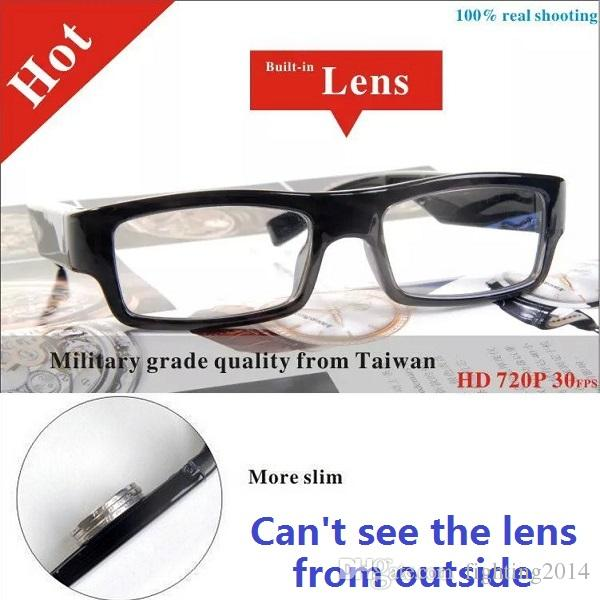 HD 720P glasses camera can't see lens Eyewear DVR digital video recorder Security & Surveillance Glasses DVR dropshipping