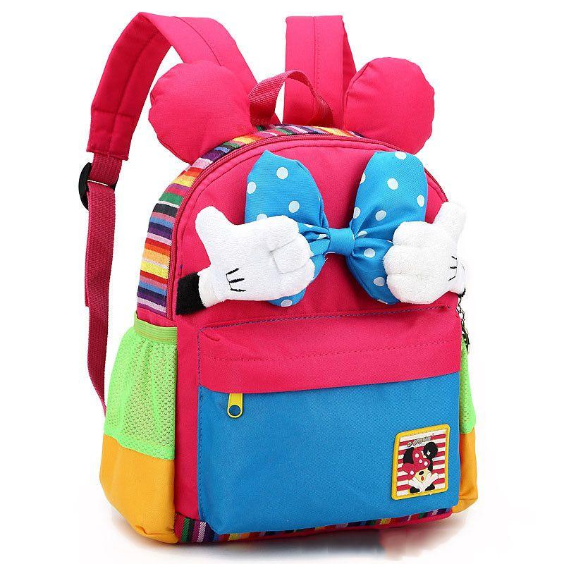 Cartoon Kids School Backpack Children School Bags For ...