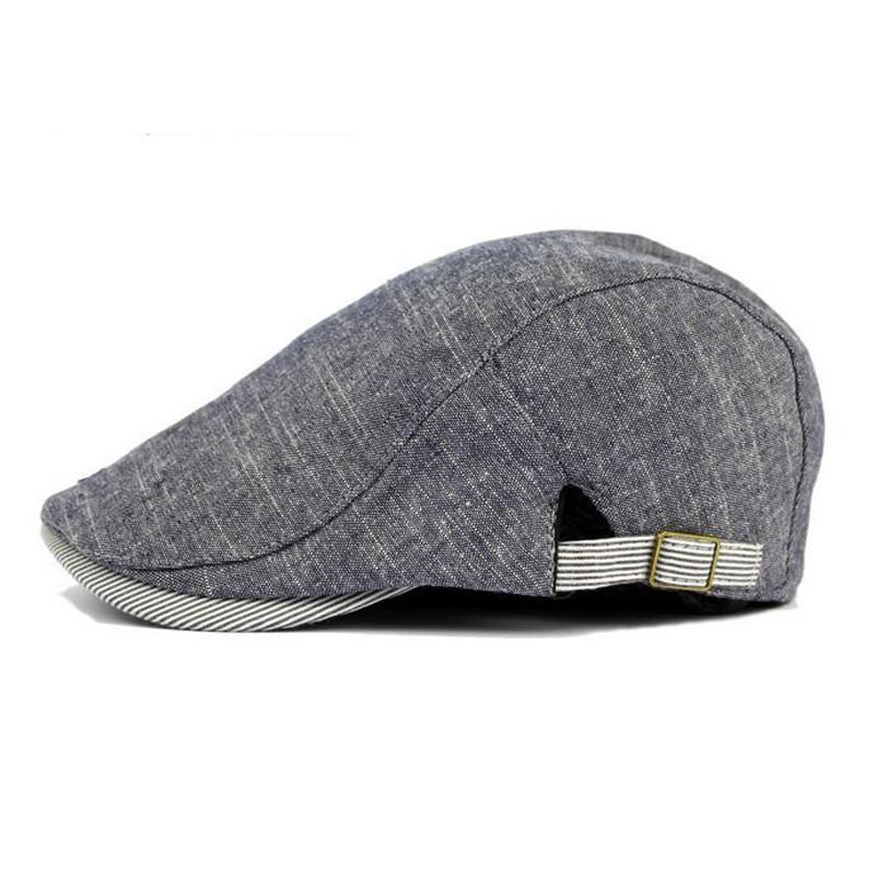 Wholesale Hot Sale Soft Cotton Beret Men Artist Cap Flat Caps Men S Hats  Fashion Adjustable Male Newsboy Gorros Hat Solid Color UK 2019 From Jutie 2d3ed93cfa4