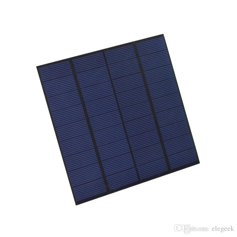 100Pcs/Lot 3W 9V Polycrystalline Solar Cell Panel PET+EVA Laminated Solar Cell Size 145*145mm for Test and Research DHL Shipping