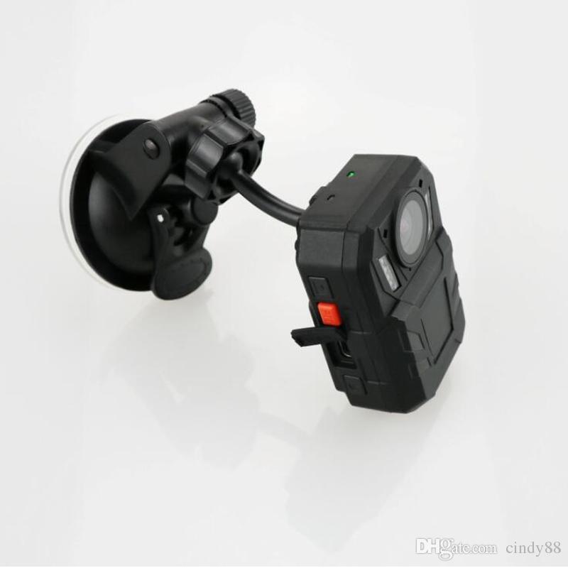 4000 mah Büyük Pil WA7D Vücut Aşınmış Kamera IP67 Su Geçirmez MAX 128G Ambaralla A7LA50 Yonga Seti 8IR Kızılötesi gece görüş