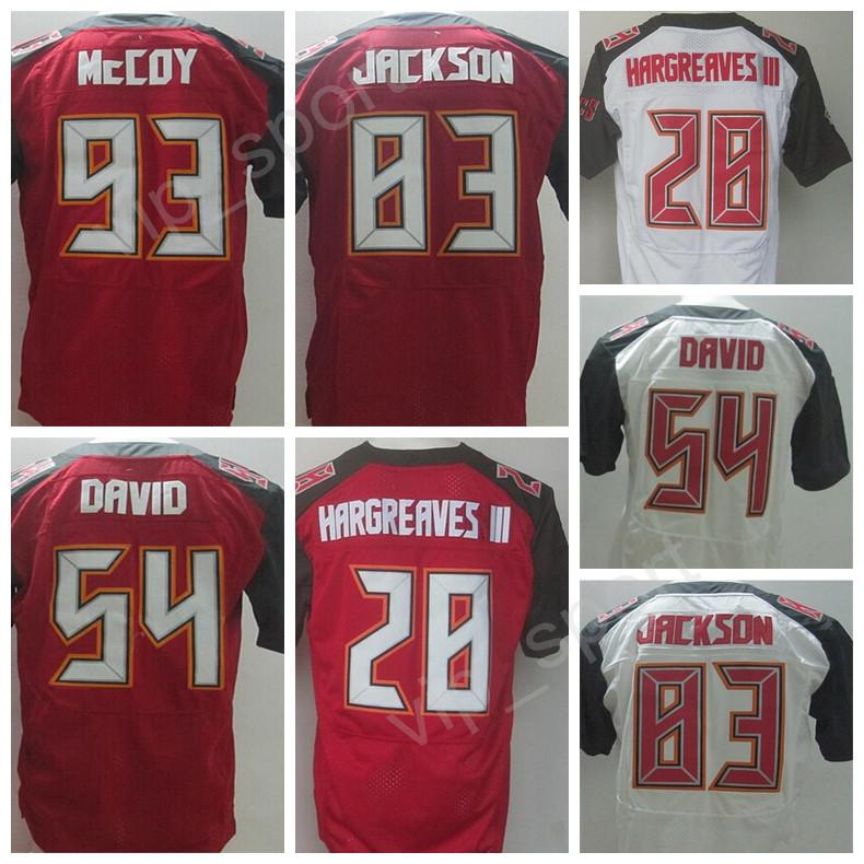 2fc1f9871ef 2017 Man Red White 28 Vernon Hargreaves Iii 54 Lavonte David Jersey Sale 83  Vincent Jackson Mens Tampa Bay Buccaneers ...