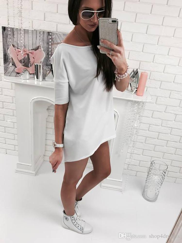 Women Lady Girls Summer Casual Fashion Loose Polyester Short Sleeve Cat Butterfly Tops T-shirt Clothes 3175