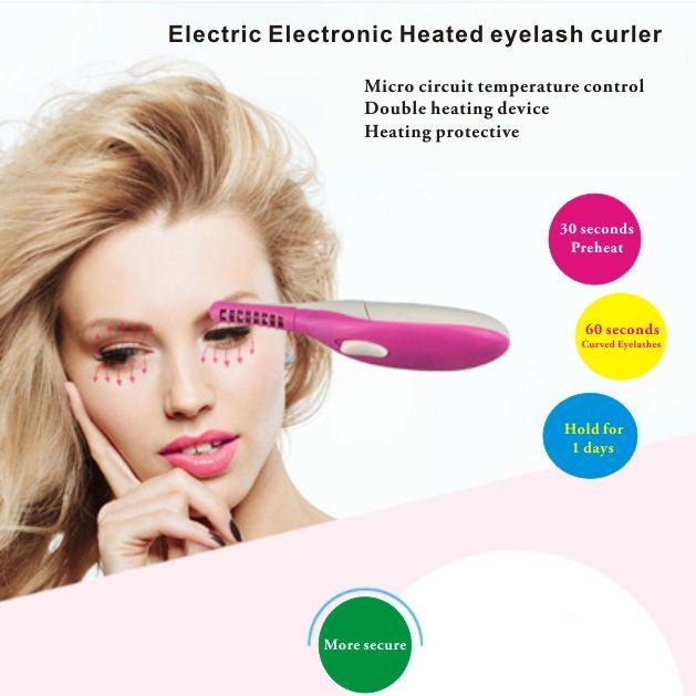 Electric Electronic Heated Eyelash Curlerlash Curls Enhancerperm