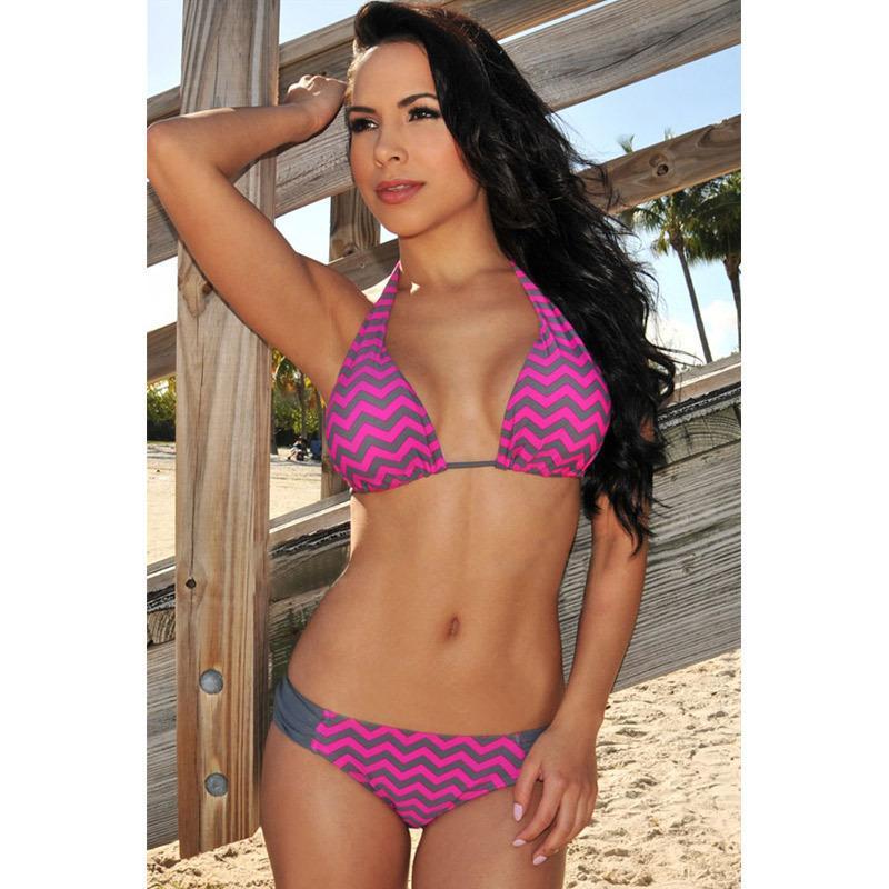 7e8c4df1b7 Acheter European Sexy Halter Straps Beach Loisirs Taille Regroupent Les Bikinis  De Maillot De Bain Féminin De $24.13 Du Hsk666 | Dhgate.Com