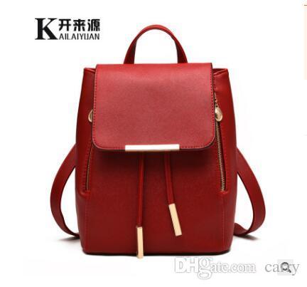 5c1f65913 2017 Fashion Women's backpack bag school bag handbags shoulder purse top  quality free shipping
