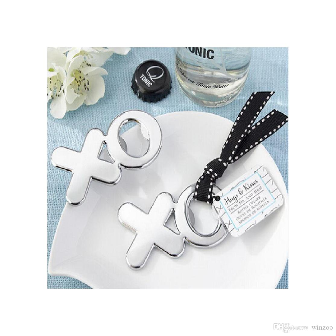 Creative Design XO Letters Shape Bottle Opener Classic XO Letters ...