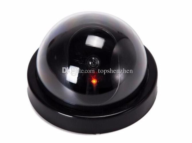 Gefälschte Kamera der drahtlosen Ausgangssicherheit simulierte Videoüberwachung Innen / im Freien Überwachungsdummy Ir gefälschte gefälschte Haubenkamera mit Kleinverpackung