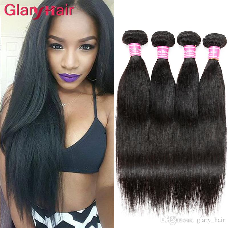 New Arrival Brazilian Virgin Human Hair Vendors Cheap Brazilian Hair  Bundles Natural Black Human Hair Extensions Sale Wholesale Straight 6ps Cheap  Hair Weft ... 82d5c761ae