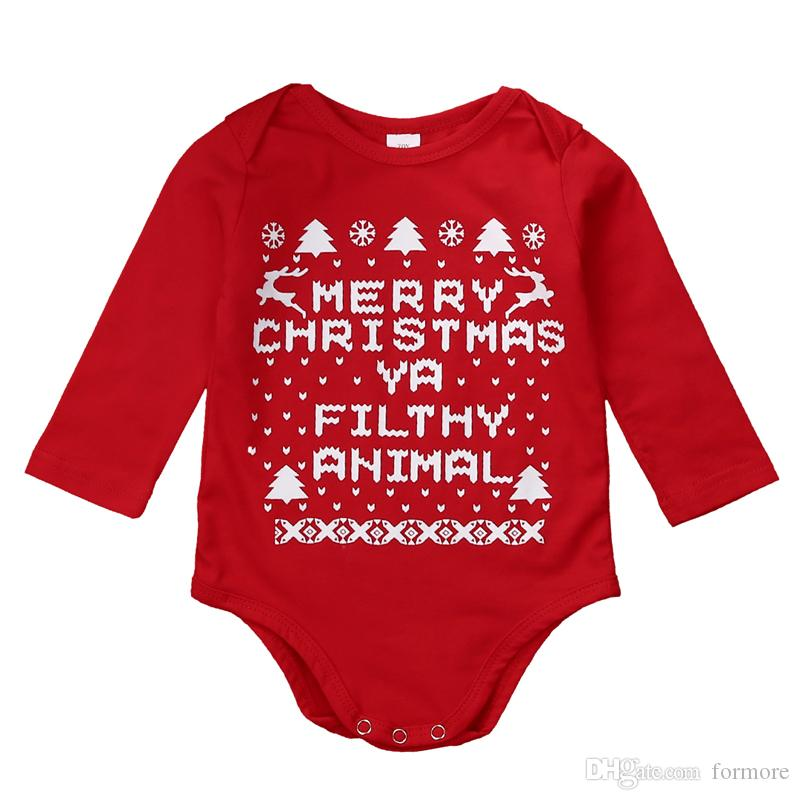 Christmas Boutique Rompers Baby Gift Boys Clothes For New Year Cute Santa Bebe Onesies Toddler Jumpsuit Infant One-Piece Kids Clothing