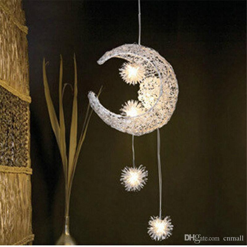 Bedroom moon stars pendant lamps modern pendant ceiling light bedroom moon stars pendant lamps modern pendant ceiling light lighting lamp chandelier ceiling light g4 bulb lights warmwhite bulb pendant light fitting mozeypictures Gallery