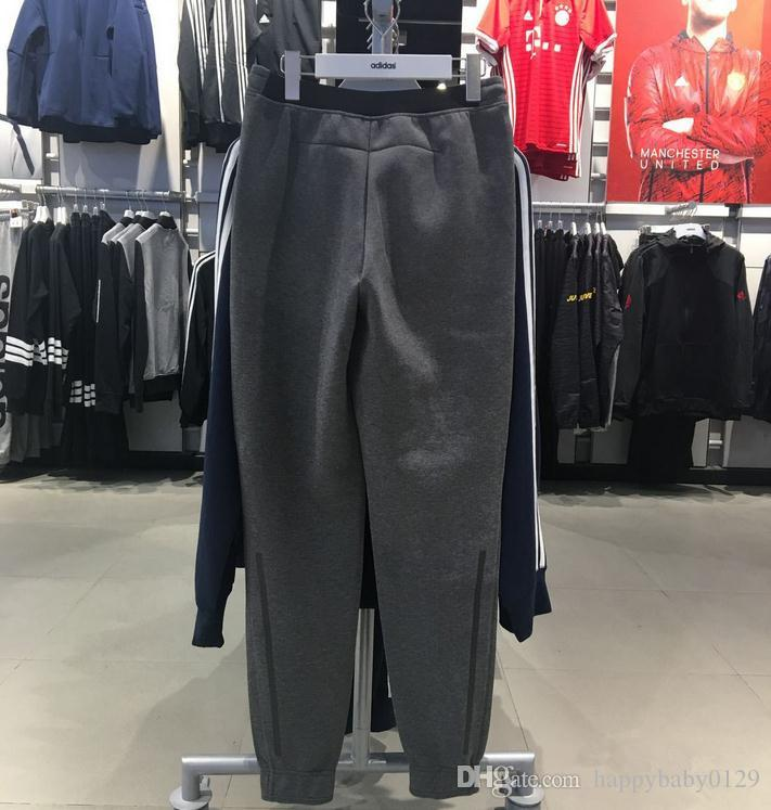 Pantalón de algodón y lana. Cremallera. Pantalón deportivo. 3 m. Engrosamiento reflectante.