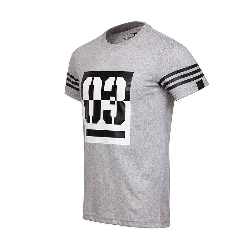 c98538ce3 Fashion Original Brand ADI Round Neck t-shirt New Arrival Mens T-shirt  Outdoor Sportswear Training Sports t shirt for Men Women