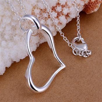Al por mayor - El precio bajo al por menor regalo de Navidad 925 joyería de moda de plata envío gratuito Collar p080