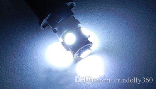 T10 Wedge 5-SMD 5050 Xenon LED Light bulbs 192 168 194 W5W 2825 158 White
